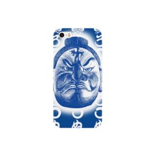 まつろわぬ 悪路王バージョンB Smartphone cases