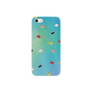 きらきら輝くおすし Smartphone cases