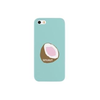 50%NUT(big coco) Smartphone cases