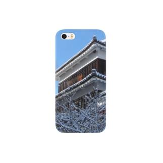 上田城(冬) Smartphone cases
