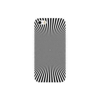 変な柄 Smartphone cases
