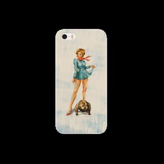 lulalunのpitbullgirl Smartphone cases