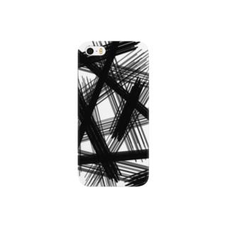 黒線 Smartphone cases