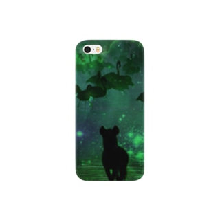 ジャングルの夜景 Smartphone cases