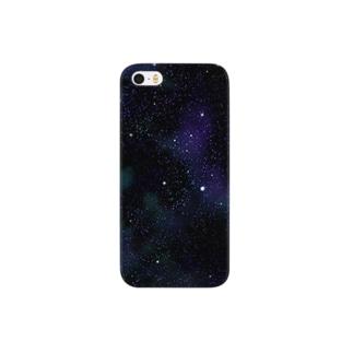 青星の宇宙 Smartphone cases