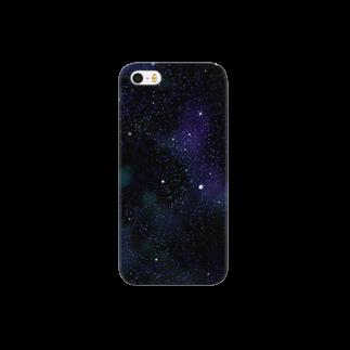オルカの青星の宇宙 スマートフォンケース