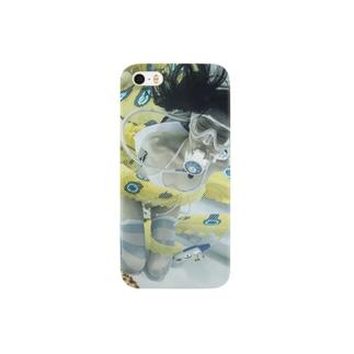水中ニーソプラス:P90 Smartphone cases