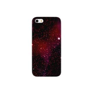赤星の宇宙 Smartphone cases