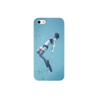 水中ニーソプラス:P45A Smartphone cases