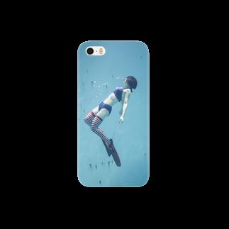 スプライトの水中ニーソプラス:P45A Smartphone cases