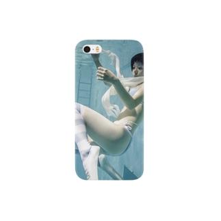 水中ニーソプラス:P42E Smartphone cases