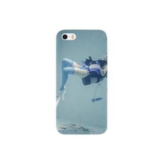 水中ニーソプラス:P39C Smartphone cases