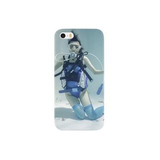 水中ニーソプラス:P39B Smartphone cases