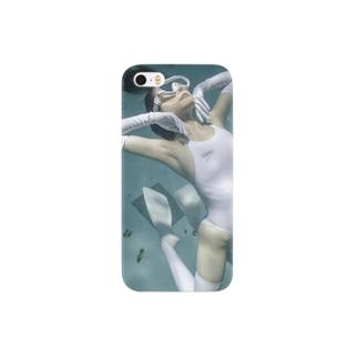 水中ニーソプラス:P21 Smartphone cases
