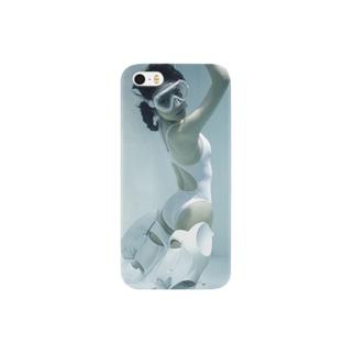 水中ニーソプラス:P12 Smartphone cases