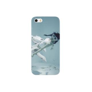 水中ニーソプラス:P10 Smartphone cases
