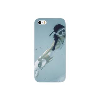 水中ニーソプラス:P06 Smartphone cases