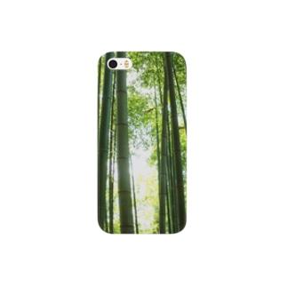 竹林だっちゃ Smartphone cases
