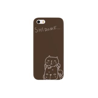 シロメ Smartphone cases