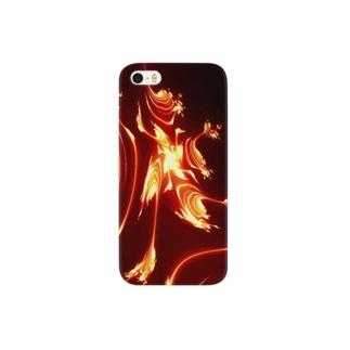 炎の舞で幸運も舞い込んで来る! Smartphone cases