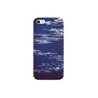 線の流れ Smartphone cases