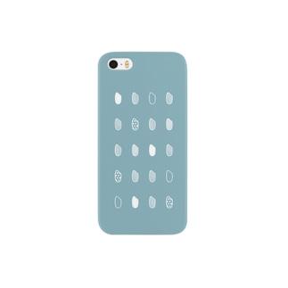お米・青 Smartphone cases