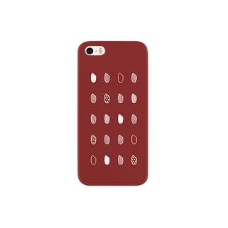 お米・赤 Smartphone cases