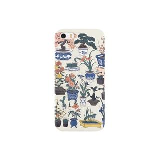 新板植木づくし【浮世絵・おもちゃ絵】 Smartphone cases