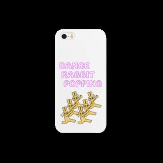 SUZURI×ヤマーフのDANCE RABBIT POPPING Smartphone cases