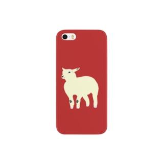 lamb_01 スマートフォンケース