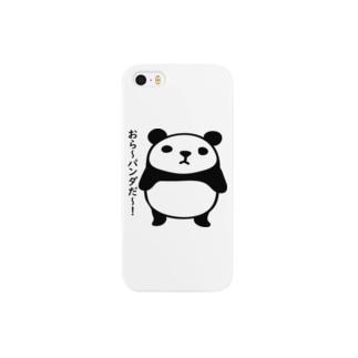 おら~パンダだ~! Smartphone cases