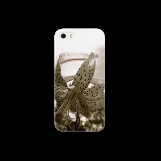 lodgevista_kinariの鬼百合 Smartphone cases