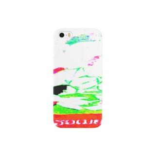 ラオスの微笑ましい一家 Smartphone cases