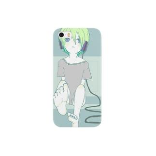 ヘッドホンガール Smartphone cases