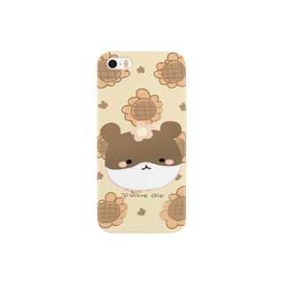 〒more chip Smartphone cases