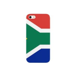 南アフリカ 国旗 Smartphone cases