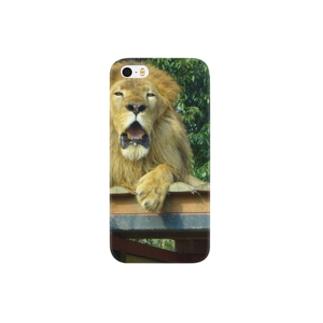 百獣の王~ライオン~ Smartphone cases