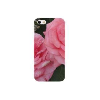 カップルバラ~恋愛祈願・成就、結婚祈願・成就、いい出会い祈願、二人の記念日にも~花言葉は愛情~ Smartphone cases