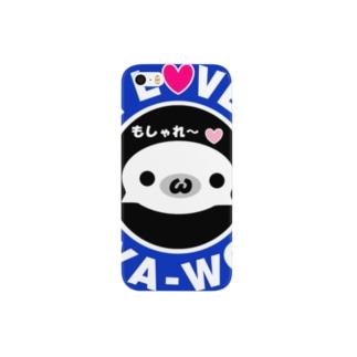 ほわほわのもしゃれ~な もしゃ子さんグッズ Smartphone cases