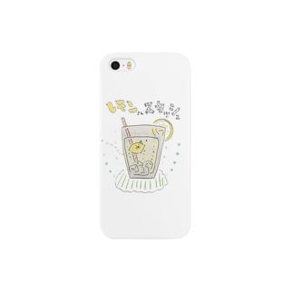 レモンさんスカッシュ Smartphone cases