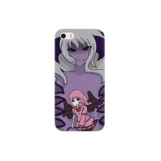悪魔に喰われる天使 Smartphone cases
