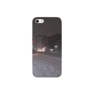 2013の大雪 Smartphone cases