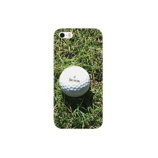 青空白球一直線 Smartphone cases