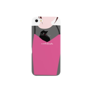 cat_inapron_zoomin Smartphone cases