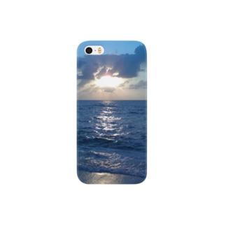 宮古島の夕陽 Smartphone cases