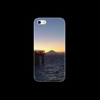 dac0001の江ノ島から富士山を望む。 Smartphone cases