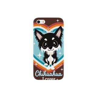 チワワ ブラックタン Smartphone cases