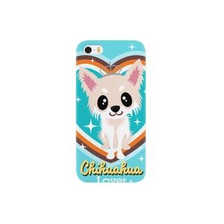チワワ クリーム Smartphone cases