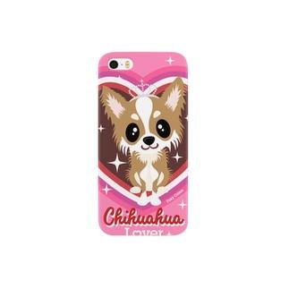 チワワ フォーン Smartphone cases