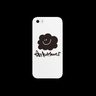 AFROMANCEのアフロマンス・ロゴ Smartphone cases